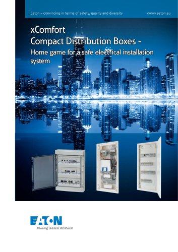 xComfort Compact Distributor Boxes