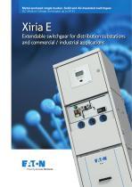 Xiria E Extendable switchgear for distribution substations and commercial / industrial applications