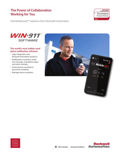 Encompass Partner - WIN-911