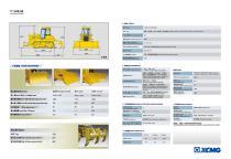 China bulldozer brands XCMG bulldozer 160HP bulldozer TY160 - 3