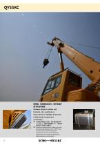 New XCMG truck crane 55 ton hydraulic mobile crane QY55KC - 12