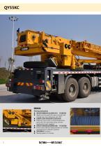 New XCMG truck crane 55 ton hydraulic mobile crane QY55KC - 6