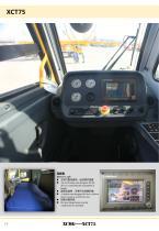 New XCMG truck crane 75 ton hydraulic mobile jib crane XCT75 - 14