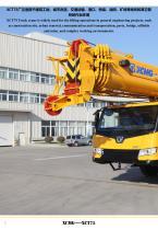 New XCMG truck crane 75 ton hydraulic mobile jib crane XCT75 - 2