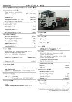 NXG4250D3WC XCMG 430HP 6x4 tractor truck - 1