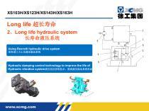 XCMG 14 ton XS143H road roller machine - 2