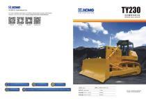 XCMG 175 KW Crawler Bulldozer TY230 - 1