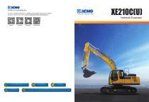 XCMG 21Ton excavator XE210C construction - 1
