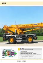 XCMG 25 Ton Rough Terrain Crane RT25 Swing-away Jib, suitable for lifting operation in oilfields, mines, road and bridge construction, etc. - 4