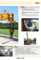 XCMG 25 Ton Rough Terrain Crane RT25 Swing-away Jib, suitable for lifting operation in oilfields, mines, road and bridge construction, etc. - 7
