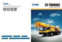XCMG 25 Tonnage Truck Crane - 1