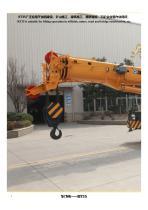 XCMG 35 Ton Rough Terrain Crane RT35 - 2