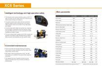 XCMG 3.5Ton Telescopic Handlers XC6-3514K - 4