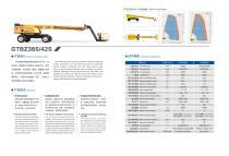 XCMG 38m Straight Boom Aerial Work Platform GTBZ38S - 2