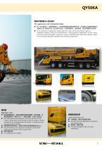 XCMG 50Ton Mobile Truck Crane QY50KA Construction - 11