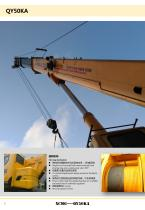 XCMG 50Ton Mobile Truck Crane QY50KA Construction - 6