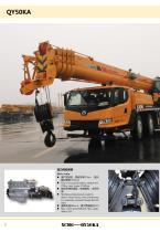 XCMG 50Ton Mobile Truck Crane QY50KA Construction - 8