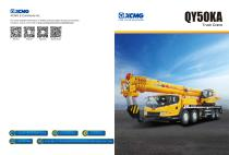 XCMG 50Ton Truck Crane QY50KA Construction - 1