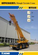 XCMG 55 ton rough terrain crane RT55E with CE - 1
