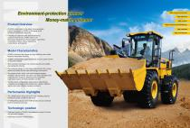 XCMG 5Ton Wheel loader ZL50GN construction - 2