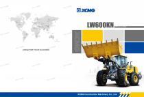 XCMG 6 ton wheel loader LW600KN - 1