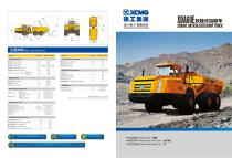 XCMG 60Ton Articulated Dump Truck XDA60E - 1