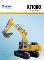 XCMG 70Ton excavator XE700C construction - 1