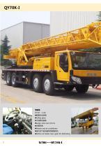 XCMG 70Ton Truck Crane QY70K-I Construction - 10