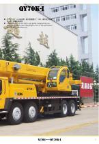 XCMG 70Ton Truck Crane QY70K-I Construction - 3