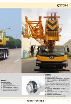 XCMG 70Ton Truck Crane QY70K-I Construction - 9