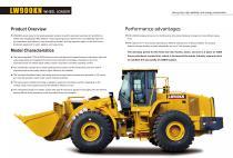 XCMG 9Ton wheel loader LW900KN construction - 2
