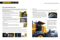 XCMG 9Ton wheel loader LW900KN construction - 6