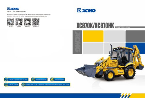 XCMG Backhoe Loader XC870K