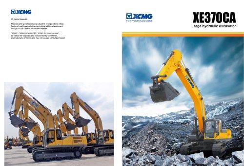 XCMG crawler excavator 37 ton rc excavator XE370CA