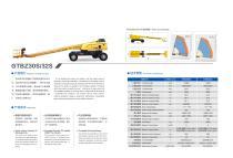 XCMG Electrical Telescopic boom lift 32m Aerial Work Platform GTBZ32S - 2