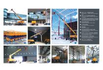 XCMG Electrical Telescopic boom lift 32m Aerial Work Platform GTBZ32S - 3