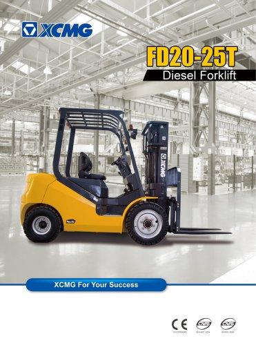 XCMG FD25T Diesel forklift
