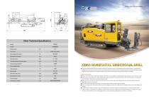 XCMG HDD XZ200 small Horizontal Directional Drill rig machine - 1
