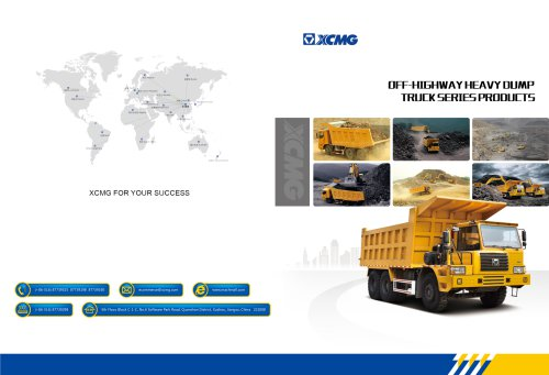 XCMG Off-highway Heavy Dump Truck Series Products