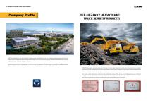 XCMG Off-highway Heavy Dump Truck Series Products - 2