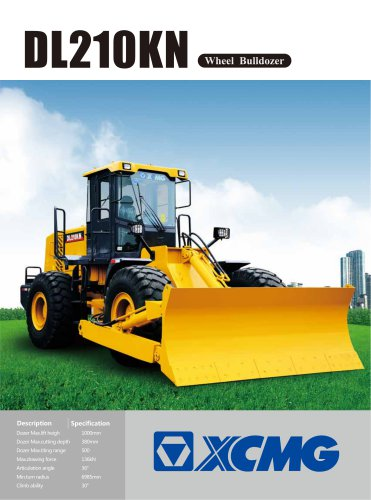 XCMG official DL210KN Wheel Bulldozer