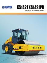 XCMG  road roller XS142J construction