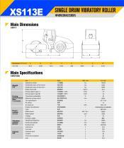 XCMG Single Drum Vibratory Roller XS113E - 2