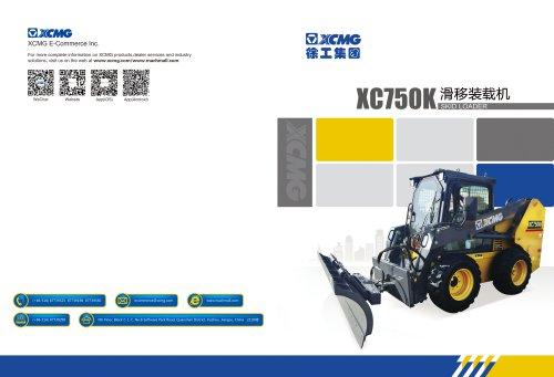 XCMG Skid Loader XC750K