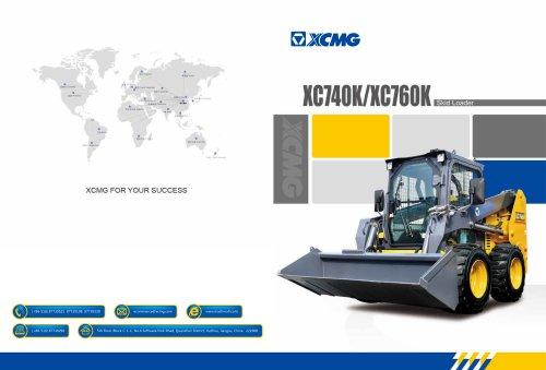 XCMG Skid Loader XC760K