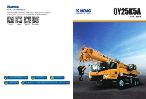 XCMG Truck Crane QY25K5A