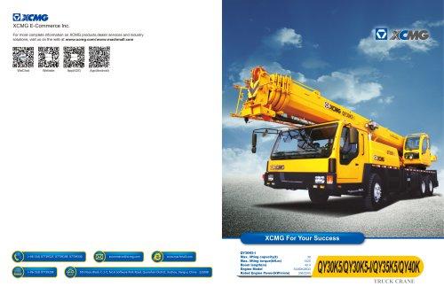 XCMG Truck Crane QY30K5-I