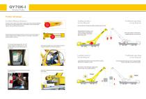 XCMG  truck crane QY70k-I construction - 3