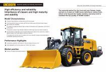 XCMG wheel loader 3 ton front end loader LW300FN - 2