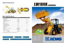XCMG Wheel Loader LW180K - 1